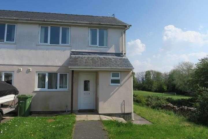 3 Bedrooms Semi Detached House for sale in 8, Stad Bryn Glas, Brynsiencyn