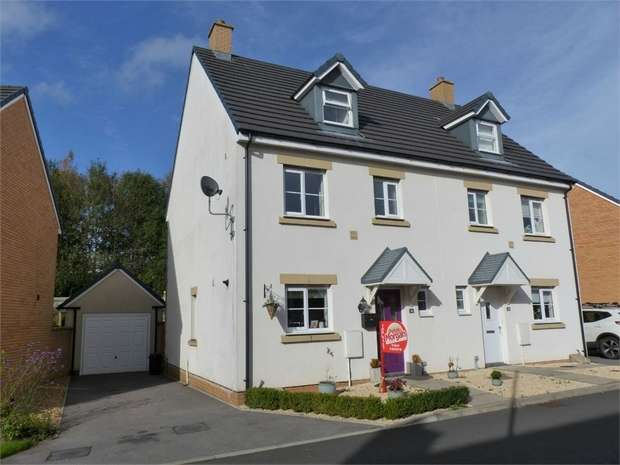 4 Bedrooms Semi Detached House for sale in Maes Y Cadno, Coity, Bridgend, Mid Glamorgan