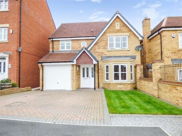 4 Bedrooms Detached House for sale in Youens Crescent, Newton Aycliffe, Durham
