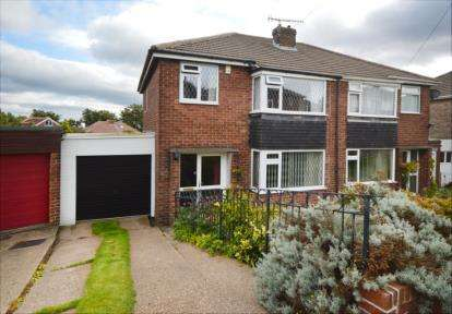 3 Bedrooms Semi Detached House for sale in Vicarage Road, Grenoside, Sheffield, South Yorkshire