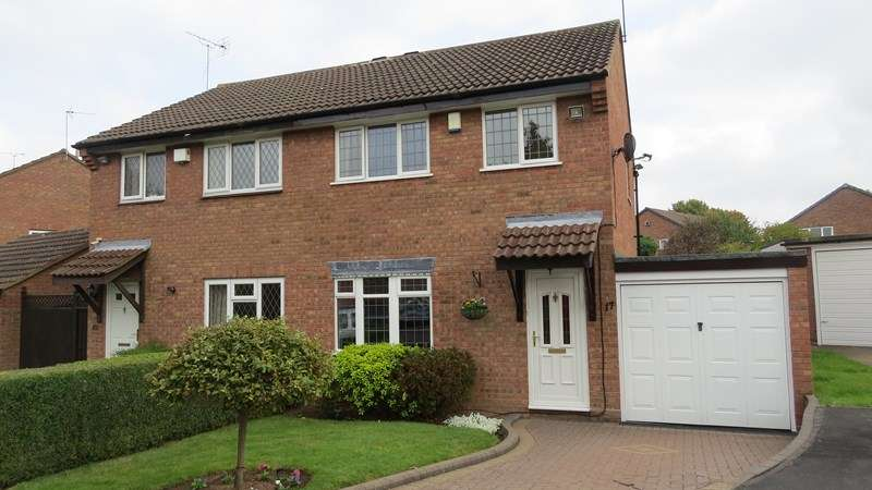 3 Bedrooms Semi Detached House for sale in Conway Road, Perton, Wolverhampton