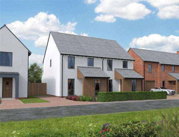 3 Bedrooms Semi Detached House for sale in Orchard View, Kingfisher Rise, Newton St Cyres
