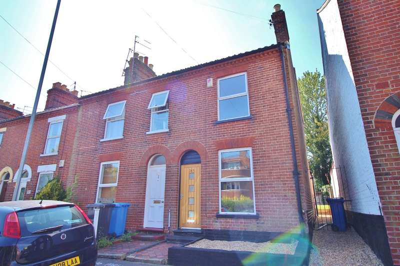 2 Bedrooms End Of Terrace House for sale in Heigham Street, Norwich