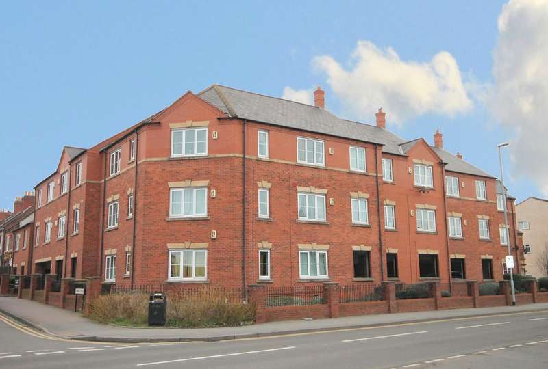2 Bedrooms Flat for sale in Gendle Court, Thomas Street, Tamworth, B77 3PS