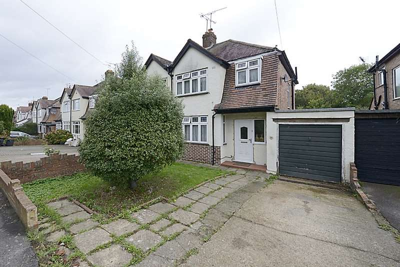 3 Bedrooms Semi Detached House for sale in Shepherds House Lane, Reading, Berkshire, RG6
