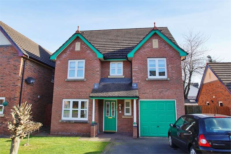 5 Bedrooms Detached House for sale in CA1 3GX Pennine View, Parkland Village, Carlisle, Cumbria