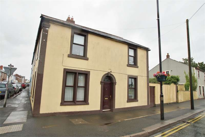 4 Bedrooms End Of Terrace House for sale in CA6 5SE English Street, Longtown, Carlisle, Cumbria