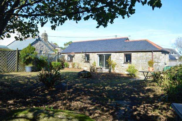 2 Bedrooms Detached Bungalow for sale in Vorvas, Lelant, St. Ives, Cornwall
