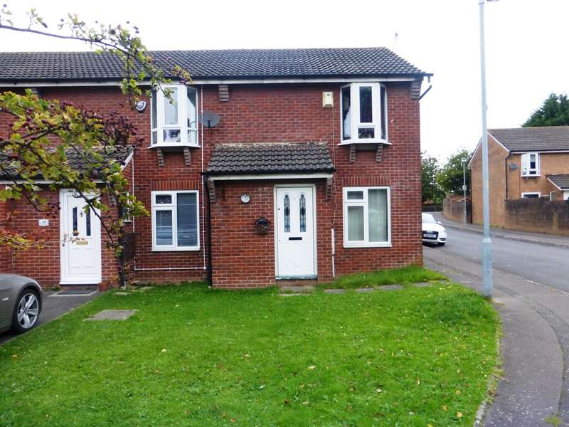 2 Bedrooms End Of Terrace House for sale in Pavaland Close, St. Mellons, Cardiff