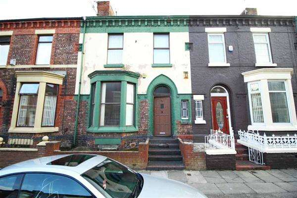 3 Bedrooms Terraced House for rent in Esmond Street, Kensington, liverpool