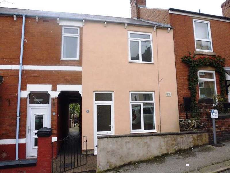 3 Bedrooms Terraced House for sale in Higher Albert Street, Chesterfield
