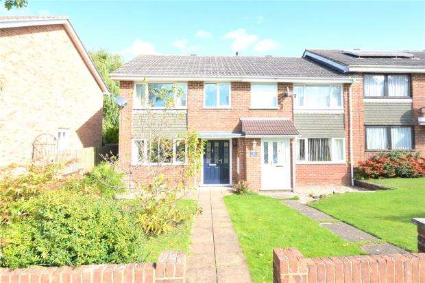 3 Bedrooms End Of Terrace House for sale in Britten Road, Basingstoke, Hampshire