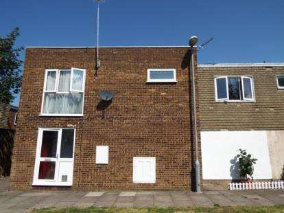 2 Bedrooms Maisonette Flat for sale in Copenhagen Close, Luton, Bedfordshire