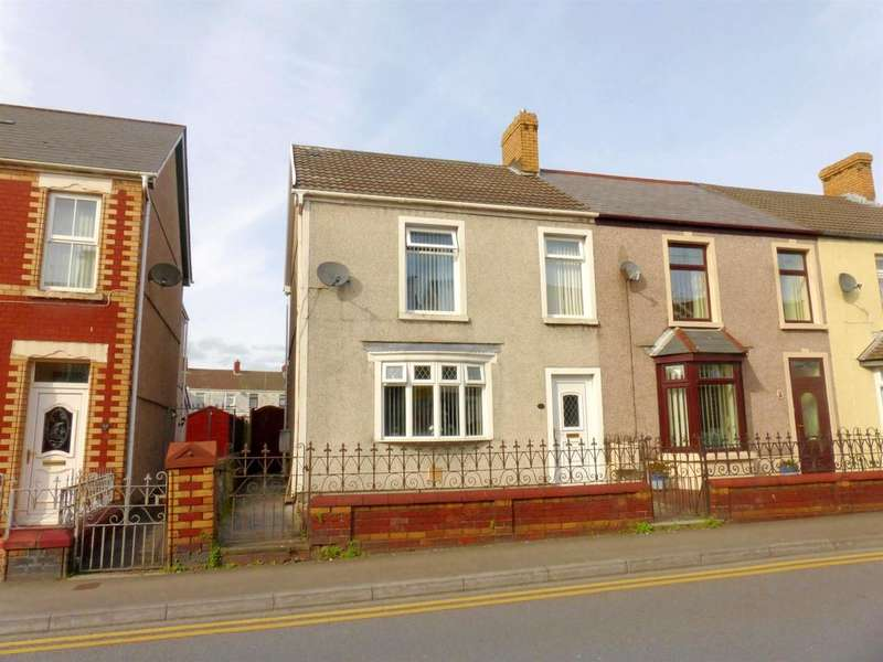 3 Bedrooms End Of Terrace House for sale in Commercial Street, Kenfig Hill