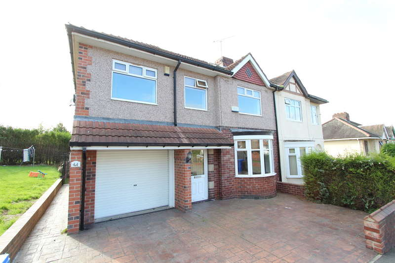 4 Bedrooms Semi Detached House for sale in Olivers Mount, Darnall