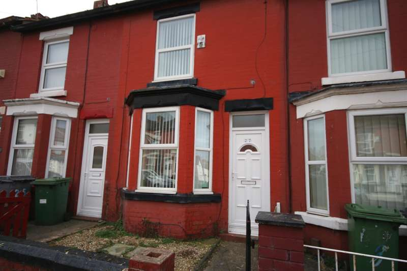 2 Bedrooms Terraced House for sale in Elmswood Road, Birkenhead, CH42 7HN