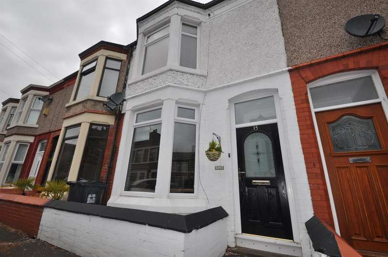 3 Bedrooms Terraced House for sale in Ball Avenue, Wallasey, CH45 9JT
