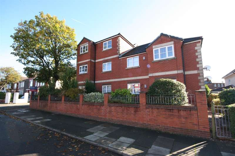 2 Bedrooms Flat for sale in Rosebery Avenue, Wallasey, CH44 0BE