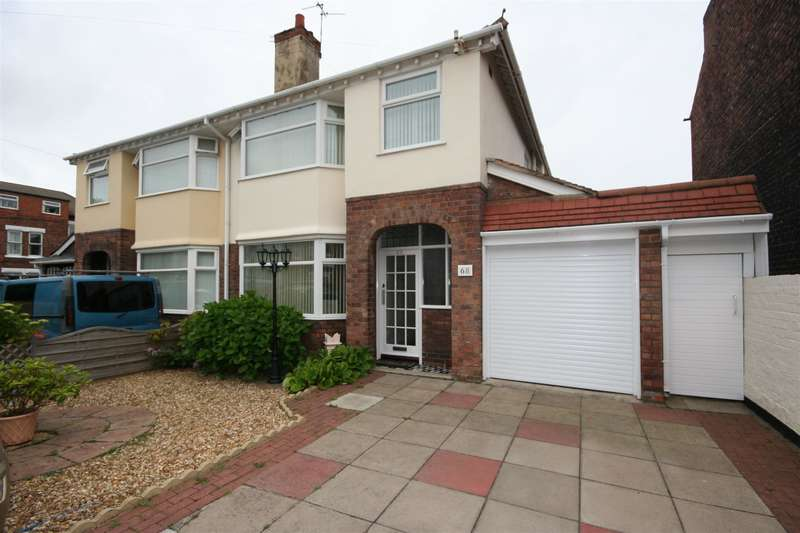 3 Bedrooms Semi Detached House for sale in Strathcona Road, Wallasey, CH45 7NB