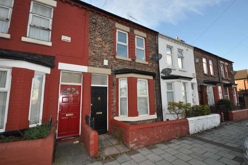 3 Bedrooms Terraced House for sale in Patten Street, Birkenhead, CH41 8DN
