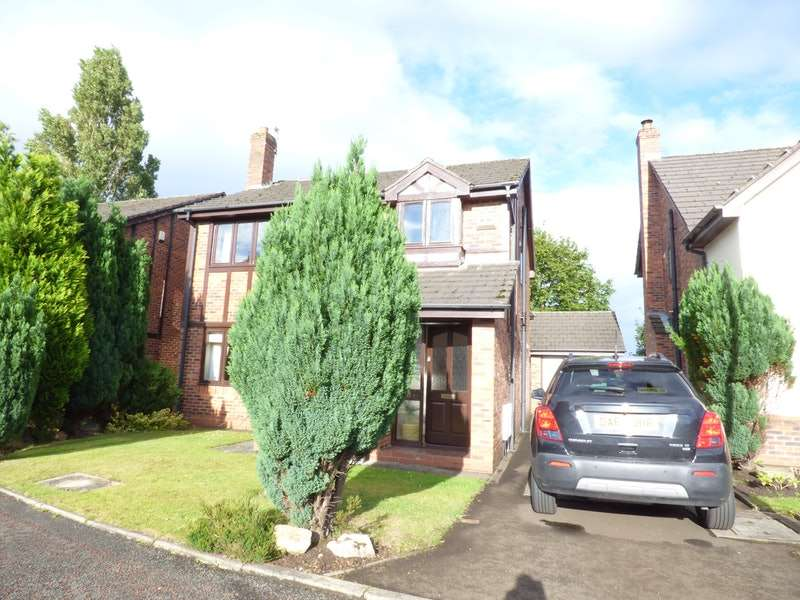 4 Bedrooms Detached House for sale in Ribchester Gardens, Warrington, Cheshire, WA3