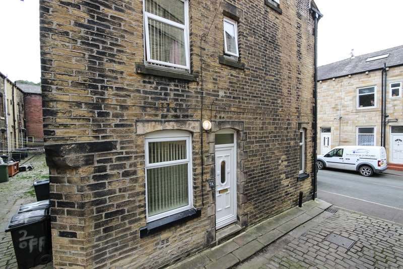 3 Bedrooms End Of Terrace House for sale in Der Street, Todmorden, West Yorkshire, OL14