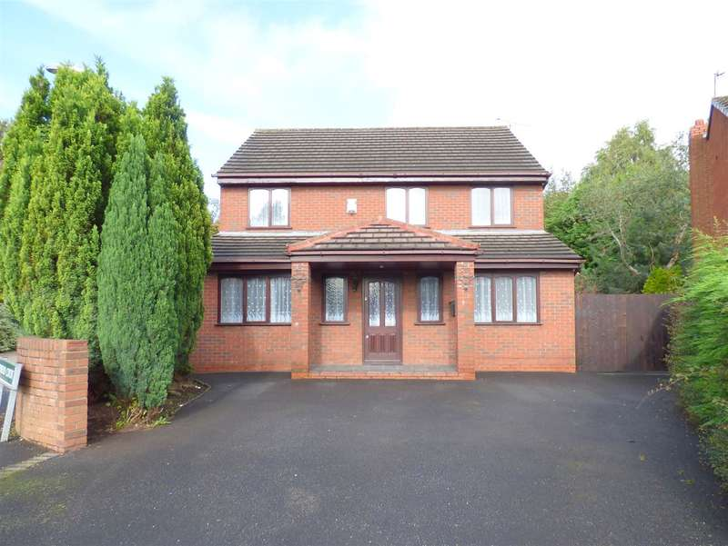 4 Bedrooms Detached House for sale in Sherwood Court, Huyton, Liverpool