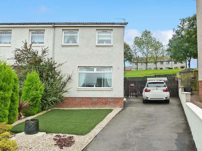 3 Bedrooms Semi Detached House for sale in Carseview, Stirling