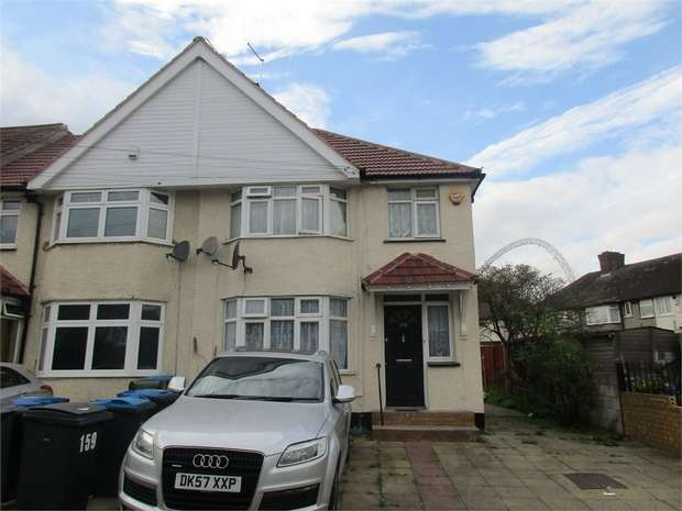 3 Bedrooms End Of Terrace House for sale in Wyld Way, Wembley