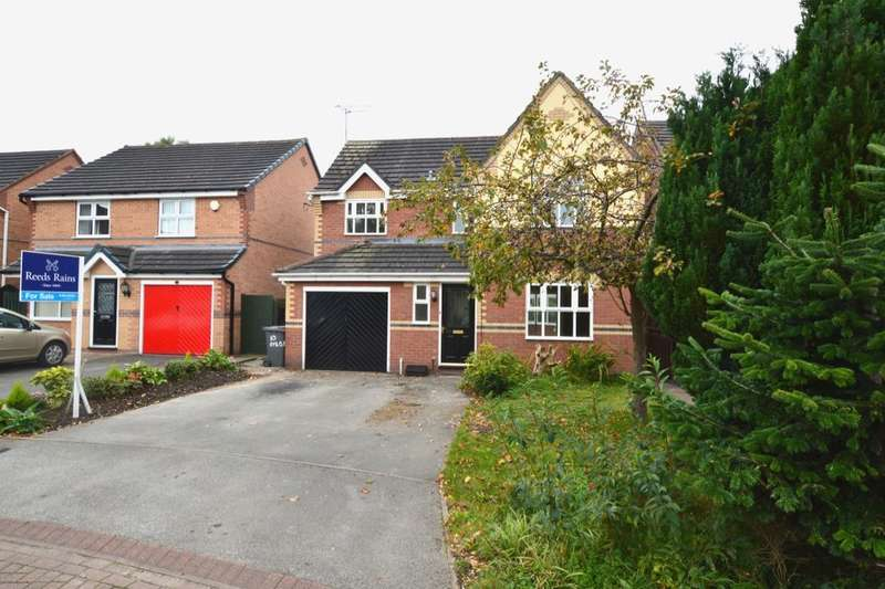 4 Bedrooms Detached House for sale in Byron Close, Ettiley Heath, Sandbach, CW11