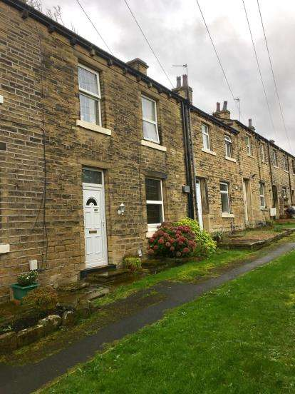 2 Bedrooms Terraced House for sale in Wakefield Road, Waterloo, Huddersfield, West Yorkshire