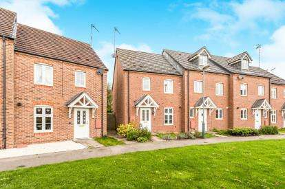 3 Bedrooms End Of Terrace House for sale in The Marish, Chase Meadow, Warwick, Warwickshire