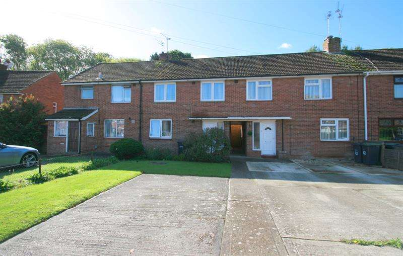 3 Bedrooms Terraced House for sale in Winchfield Crescent, Havant