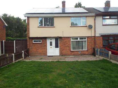 4 Bedrooms Semi Detached House for sale in Garibaldi Road, Forest Town, Mansfield, Nottinghamshire