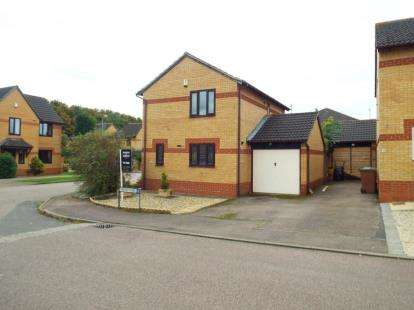3 Bedrooms Detached House for sale in Heron Close, Woodford Halse, Daventry, Northamptonshire