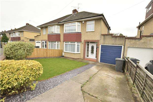 3 Bedrooms Semi Detached House for sale in St. David's Avenue, Warmley, BS30 8DF