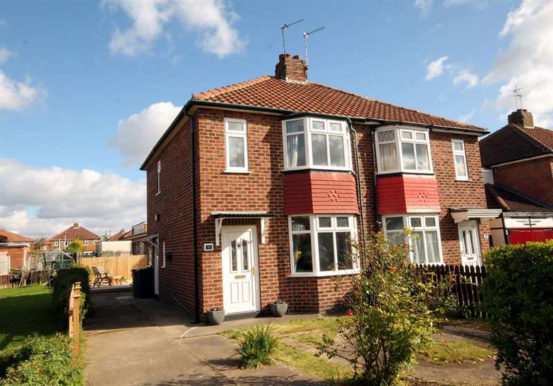2 Bedrooms Semi Detached House for sale in Woodhouse Grove, York, YO31 0PS