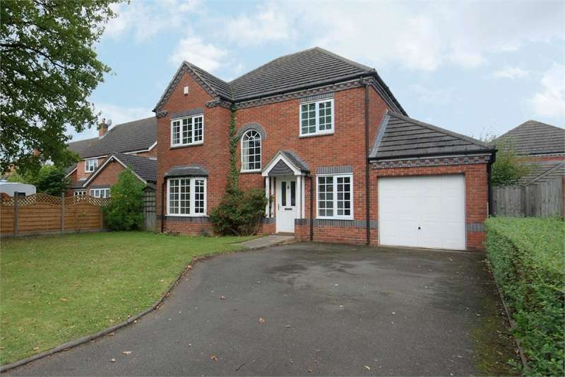 4 Bedrooms Detached House for sale in Lawford Lane, RUGBY, Warwickshire