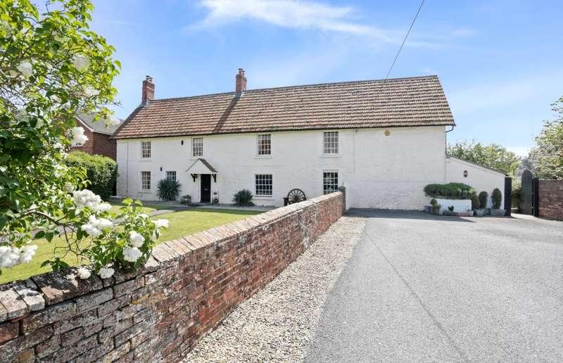6 Bedrooms Detached House for sale in Pound Farm House, Horse Road, Hilperton Marsh, Trowbridge, Wiltshire, BA14 7PD
