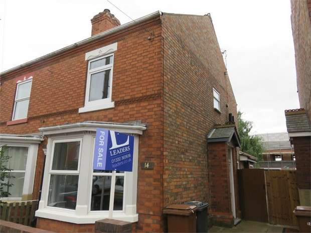 3 Bedrooms Semi Detached House for sale in Kimberley Road, Borrowash, Derby