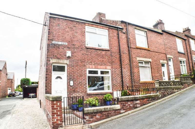 2 Bedrooms End Of Terrace House for sale in West View, Prudhoe, NE42