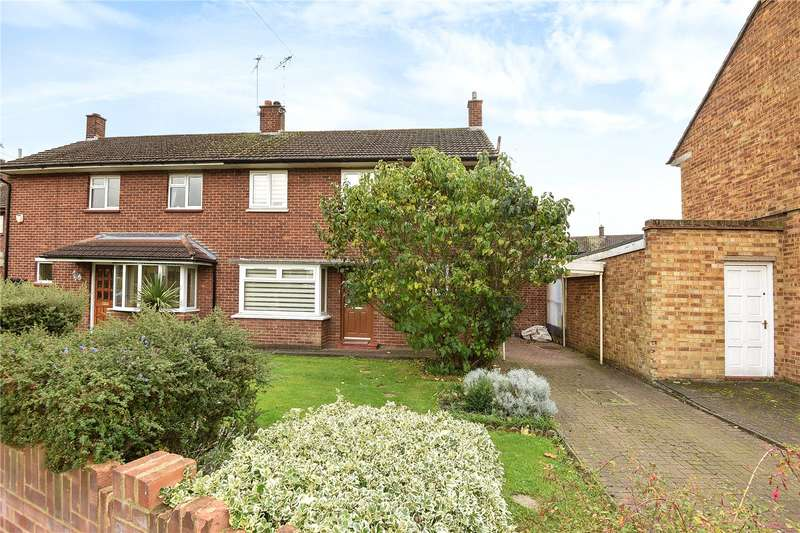 3 Bedrooms End Of Terrace House for sale in Heather Lane, West Drayton, Middlesex, UB7
