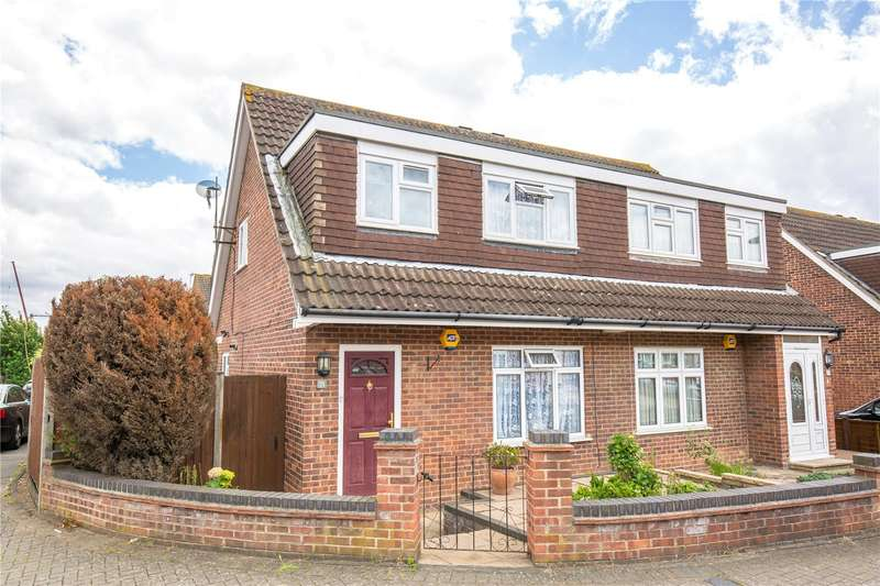 3 Bedrooms Semi Detached House for sale in Rivington Crescent, Mill Hill, London, NW7