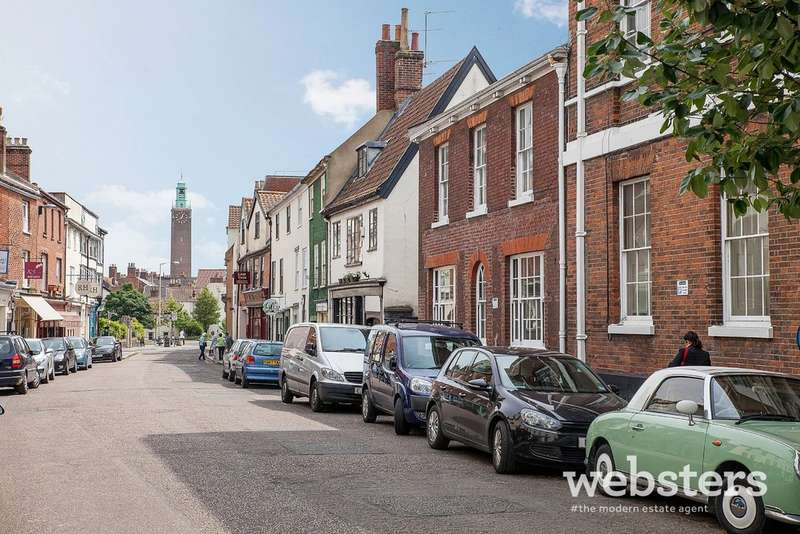 2 Bedrooms Ground Flat for sale in Upper St Giles Street, Norwich NR2