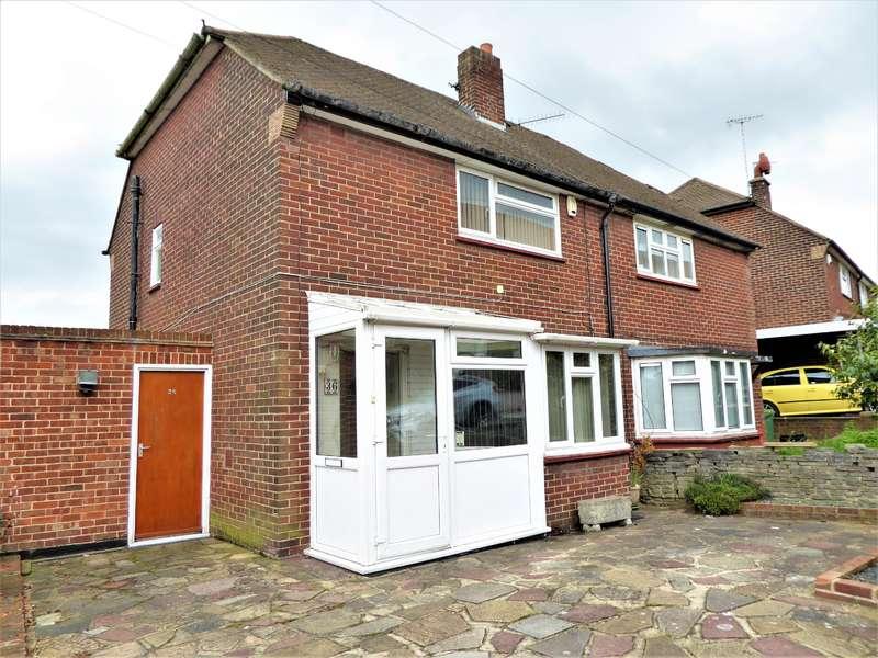 2 Bedrooms Semi Detached House for sale in Pennine Way, Barnehurst, Kent, DA7 6SR