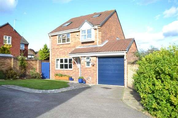 4 Bedrooms Detached House for sale in Pavenham Close, Lower Earley, Reading