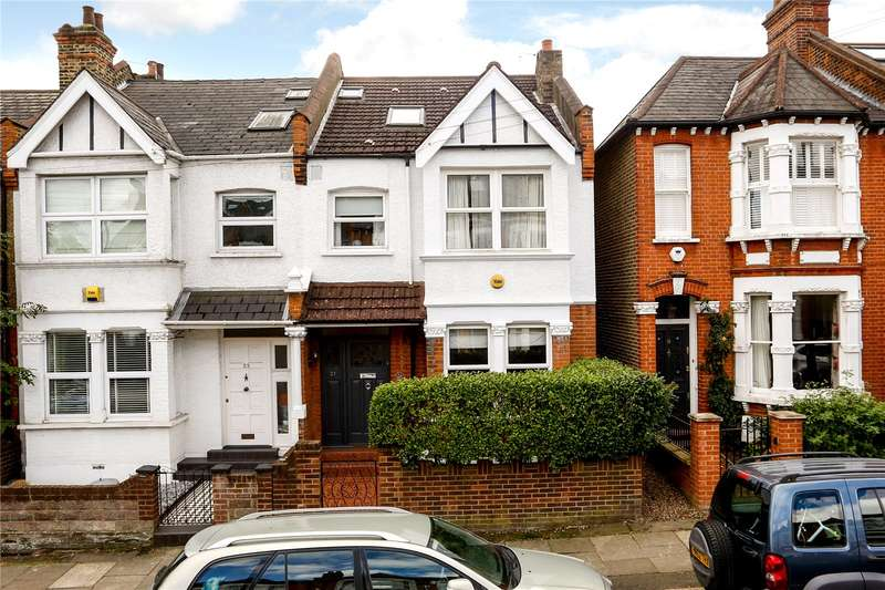 5 Bedrooms Semi Detached House for sale in Waldemar Road, Wimbledon, SW19