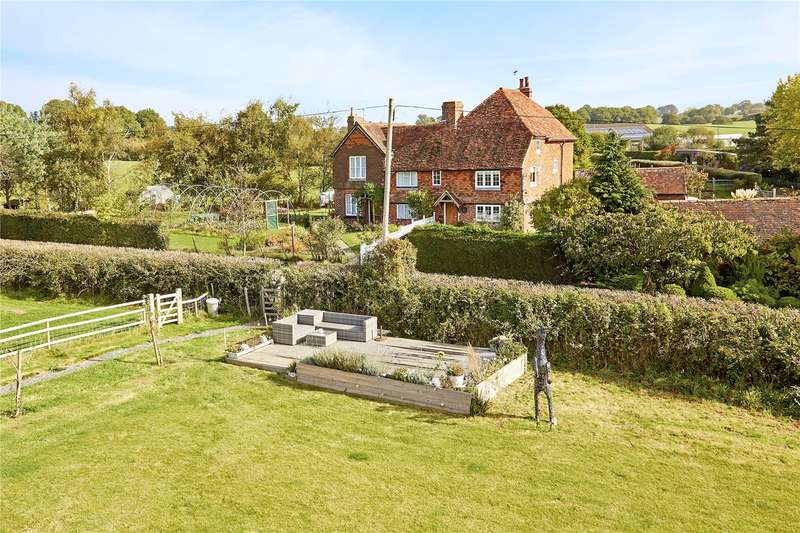 4 Bedrooms Semi Detached House for sale in Combourne Cottages, Jarvis Lane, Goudhurst, Cranbrook, TN17