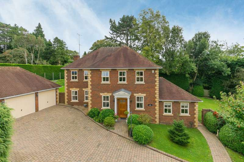 5 Bedrooms Detached House for sale in Balcary Gardens, Berkhamsted