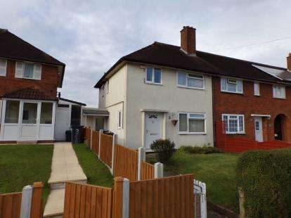2 Bedrooms End Of Terrace House for sale in Rednal Road, Birmingham, West Midlands